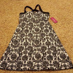 soybu athletic gray black dress S NEW